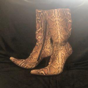 Shunning Calf Boots for Women